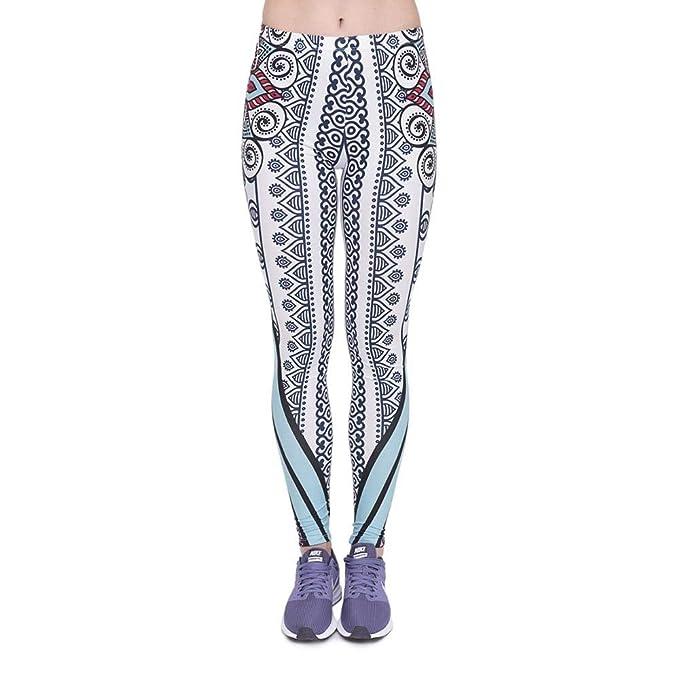 Yasminey Pantalones De Yoga Mujer Chic Fitness Legging Ropa ...
