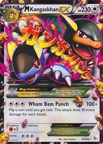 M/Mega Kangaskhan (79/106) - Pokemon Card XY Flashfire Holo Rare