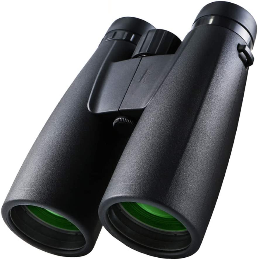 AJH Telescopio 12X50 HD Binoculares Telescopio Alcance táctico Binocular de visión Nocturna con Poca luz para observación de Aves, Impermeable