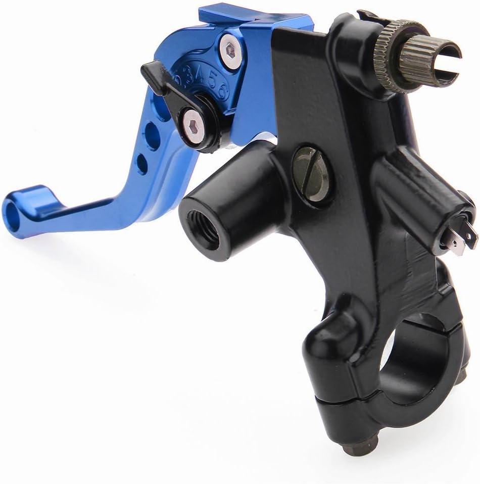 22 Millimetri HGY 1 Coppia 7//8 del Motociclo Universale Freno Frizione Reservoir Leve Blu