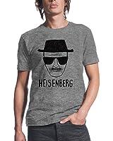 Breaking Bad Heisenberg Sketch Men's Heather Grey T-Shirt