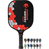 Gamma Sports Pickleball Paddles: Fusion LE Pickleball Rackets - Textured Fiberglass Face - Mens and Womens Pickle Ball Racque