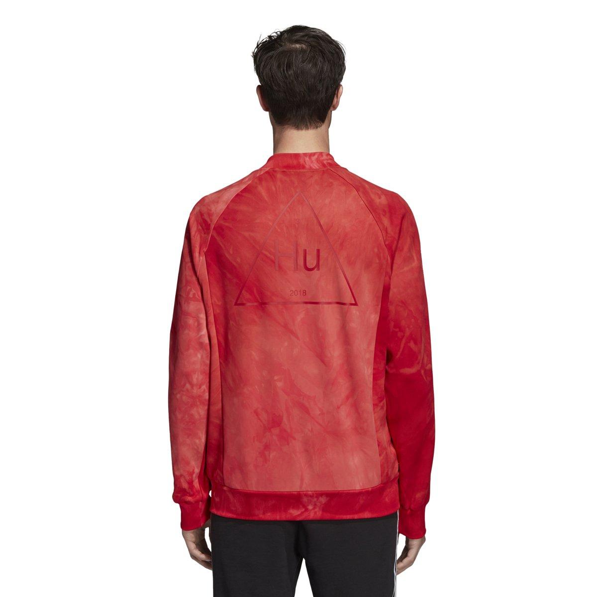 45e7c3081fc22 Adidas Mens hu Holi SSTR TT Jacket CW9105 (L) Scarlet  Amazon.ca  Clothing    Accessories