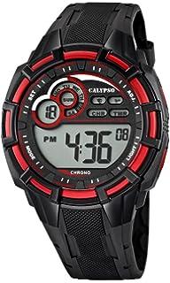 Calypso watches K5625 - Reloj de cuarzo para hombre, correa de plástico color negro