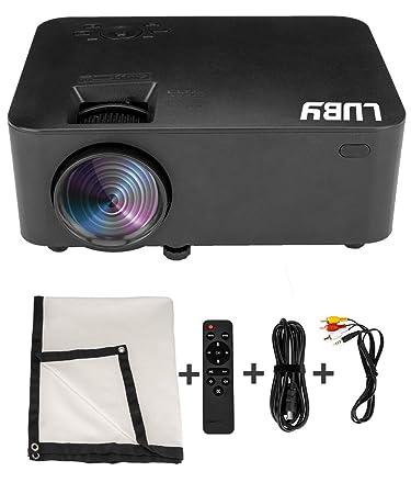 Amazon.com: Luby HP03 - Mini proyector portátil de película ...