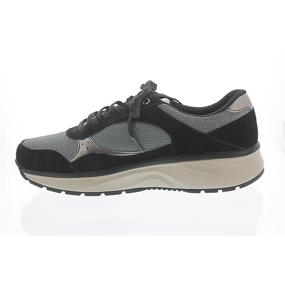 14e8cabcfa1bf8 Joya Damen Schnuerschuhe Tina Silver Black 611 SPO schwarz 90529   Amazon.de  Schuhe   Handtaschen