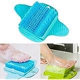 Spazzola pulizia piedi BESTOMZ Spazzola da doccia a ventosa per pedicure (Colore casual)