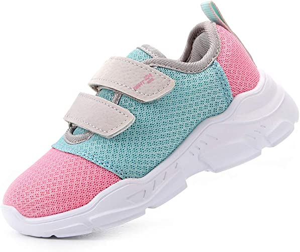 ALLY BELLY Kids Sneakers Tennis Shoes Running Lightweight Athletic Walking Shoes for Boys and Girls