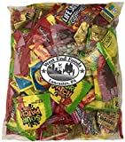 Bulk Variety Treat Bag (64oz) of Lifesavers Gummies, Nerds, Skittles, Sour Patch Kids, Starburst, Swedish fish, Twizzlers, Haribo Gummies Bears for Kids Lunch Box