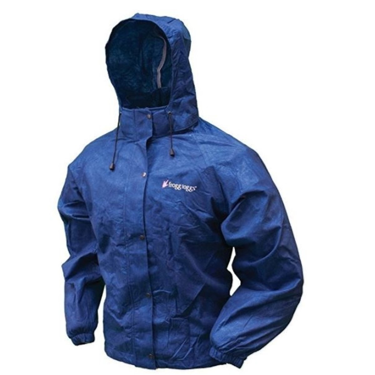 Frogg Toggs Women's All Purpose Rain Jacket, Royal Blue, Large/X-Large