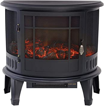FIDOOVIVIA Electric Fire Heater - Best Heating Effect