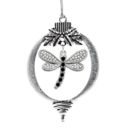 Amazon.com: Inspired Silver - 2.0 Carat Dragonfly Classic Holiday ...