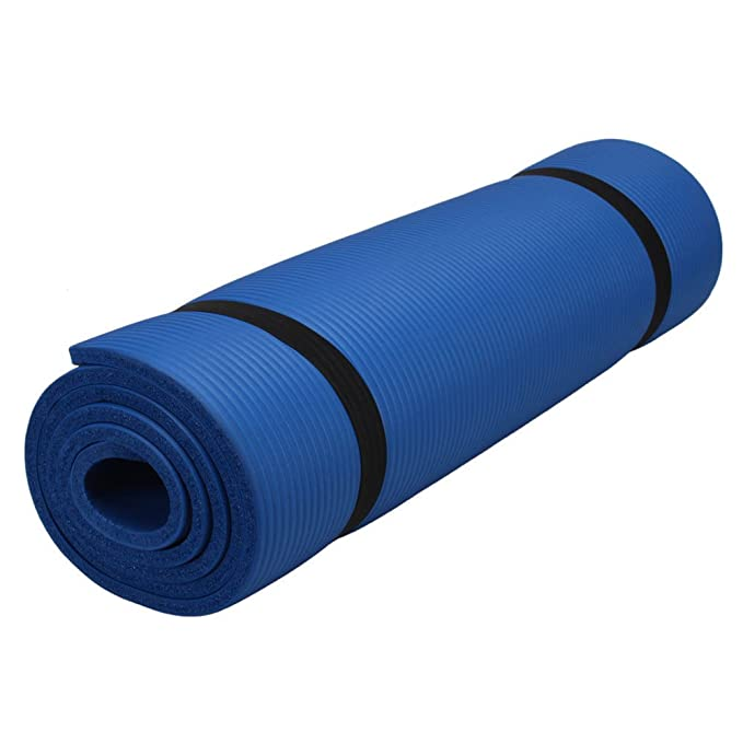 Amazon.com: 10 mm de grosor antideslizante Yoga Mat Pad ...