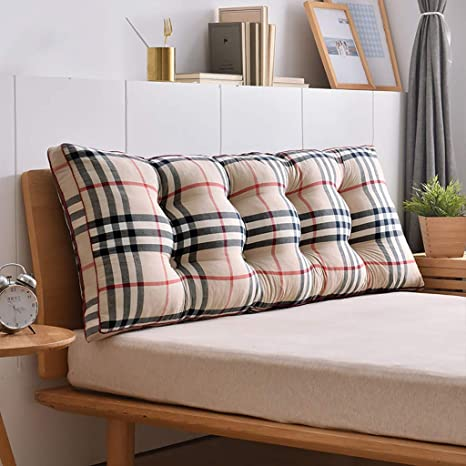 Reading Pillow Back Support Pillow Bedside Back Soft Bag Cushion