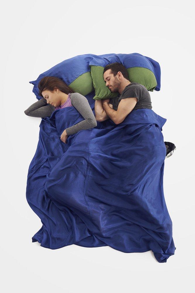 Grand Trunk - Saco de dormir (seda) azul azul Talla:eine Person: Amazon.es: Deportes y aire libre