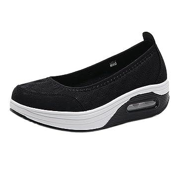 Zapatos fondo inclinado slip on,❤ Sonnena Zapatos planos de mujer de moda Zapatillas
