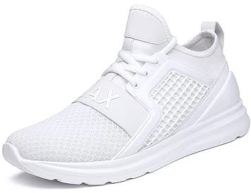 IIIIS-F Hombre Zapatillas de Senderismo Deportivas Aire Libre y Deportes Montaña y Asfalto Zapatos para Correr Running Malla Transpirable Casuales: ...