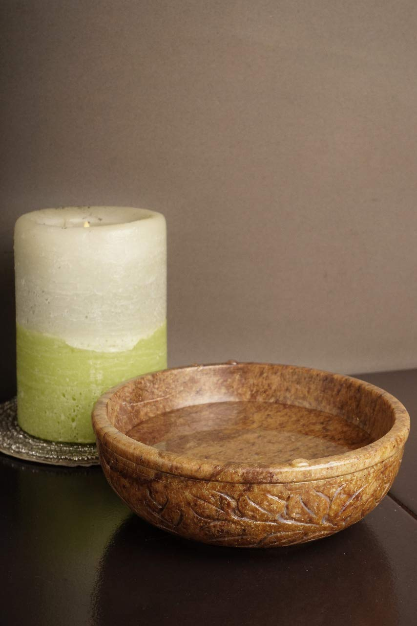 Scrying GoCraft Soapstone Scrying and Smudge Bowl Bowls /& Mirrors