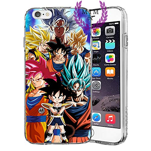 MIM UK Dragon Ball Z Super GT iPhone Case Covers Compatible for All iPhones (iPhone 7 Plus/8 Plus, Kakarot)
