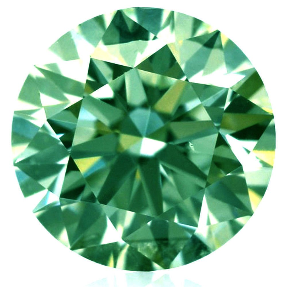 RINGJEWEL 26.18 CT SI1 19.62 MM Round Cut Loose Real Moissanite Use 4 Pendant/Ring Huge Forest Green Color