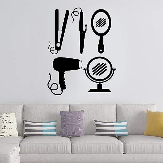 Ajcwhml Exquisita barbería decoración para el hogar Etiqueta de la ...