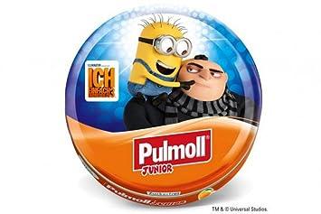 pulmoll Junior – MINIONS Gru pulmoll TOS de pirata Junior Naranja + vitaminas Ace zuckerfrei con