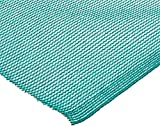 Easy Gardener Sun Screen Fabric (Reduces Temperature Up to 15 Degrees, Provides 75% More Shade) Teal Green Shade Fabric, 6 Feet x 20 Feet