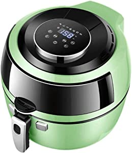 XYWCHK Air Fryer, Hot Air Fryer Oven Digital Screen and Temperature Control, Healthy Oil Free Low Fat Cooking Air Fryer