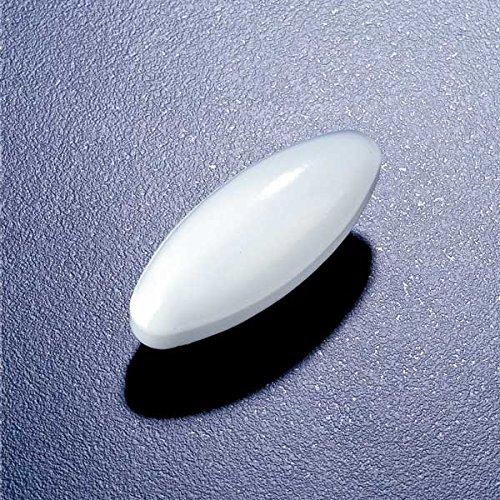 Globe Scientific SWN522-1 Polytetrafluoroethylene Oval Stir Bar 25 mm Length Inc 1181B60EA
