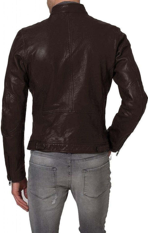 1501340 Black, Racer Jacket Laverapelle Mens Genuine Lambskin Leather Jacket