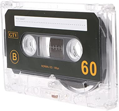 Blank Metal Cassette Recording Tape Quantity Type 60 Minutes NEW For Speech q