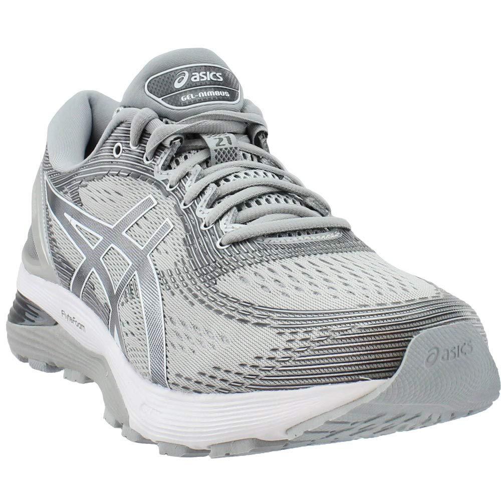 Mid gris argent 40 EU ASICS Gel-Nimbus 21, Chaussures de FonctionneHommest Compétition Homme