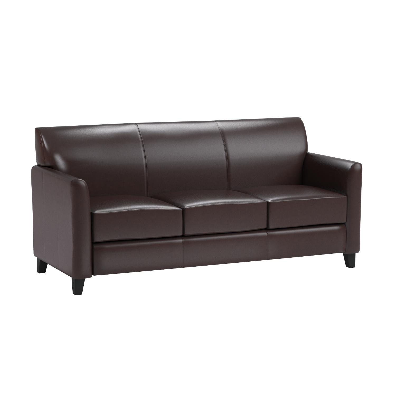 Amazon Flash Furniture HERCULES Diplomat Series Brown Leather
