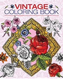 vintage coloring book chartwell coloring books - Vintage Coloring Books