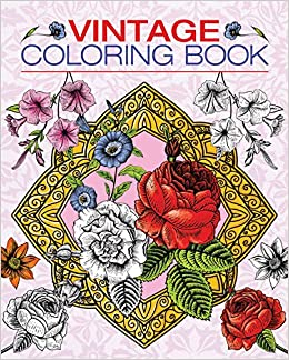 vintage coloring book chartwell coloring books