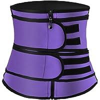 Hopgo Waist Trainer for Women Weight Loss Corset Waist Trimmer Belt Sweat Girdle Waist Cincher Body Shaper