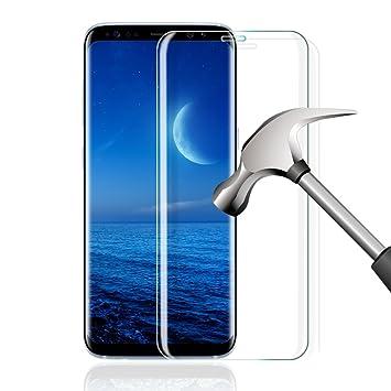 Galaxy S9 Protection Écran, Verre Trempé Galaxy S9, Protection d Écran en Verre