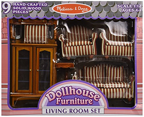 Melissa Amp Doug Classic Victorian Wooden And Upholstered