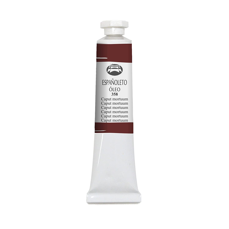 Lienzos Levante 0110105358 - Olio Españoleto tubo da 55 ml, 358, colore caput mortuum