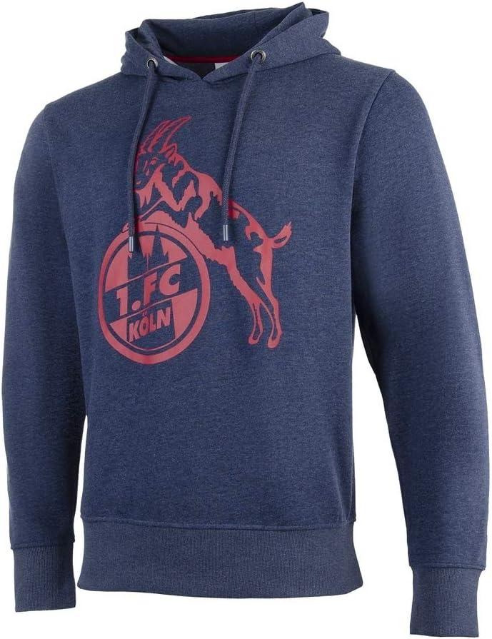 5XL M FC Hoodie Basic Navy rot Gr Koeln 1