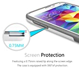 Galaxy S5 Case, TILL(TM) Ultra Slim 3 Color Hybrid