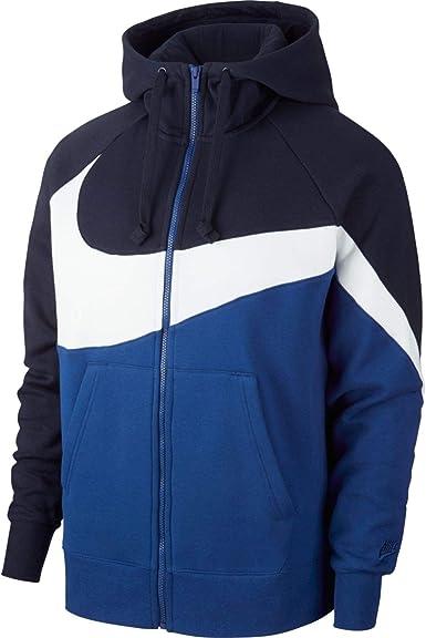 Amazon.com: Nike HBR - Sudadera con capucha y cremallera ...