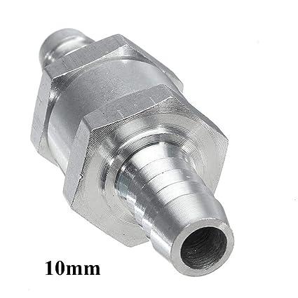 Amazon com: 6/8/10/12mm Aluminium Fuel Line One Way Non