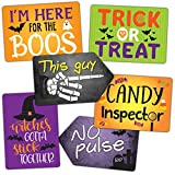 Vibrant Plastic Photo Booth Prop Signs - HALLOWEEN MIX - Set of 3 colorful signs perfect for a costume party and photo booth