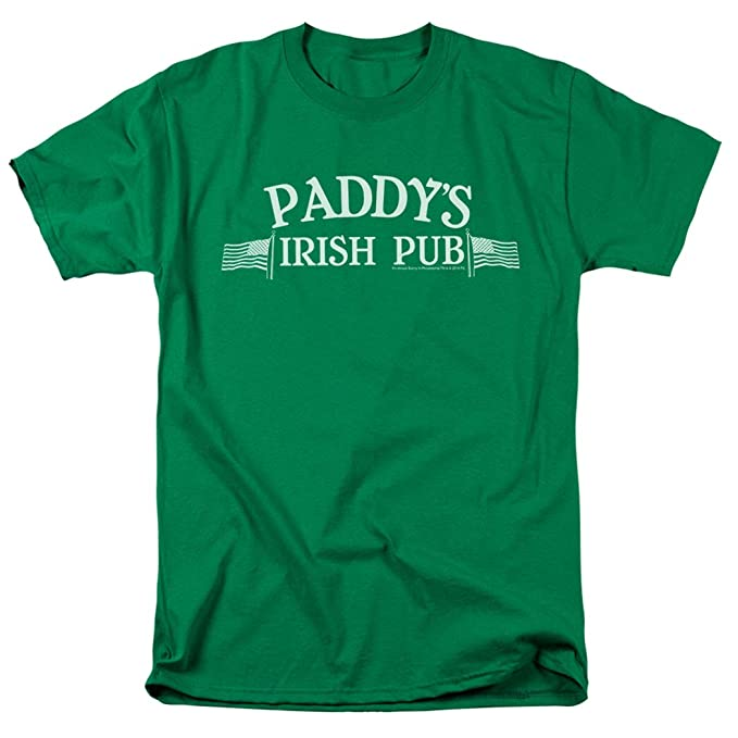 12d163a8b It's Always Sunny In Philadelphia Paddy's Pub T Shirt & Exclusive Stickers  ...