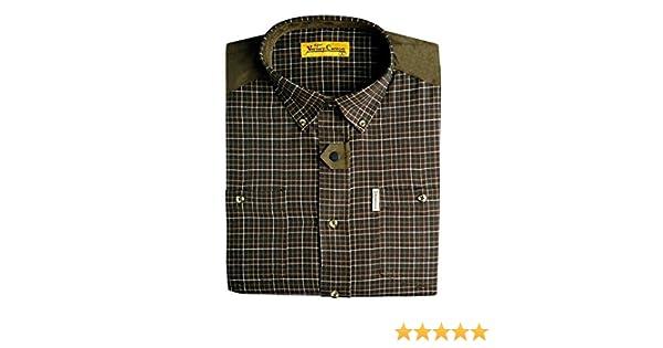 Ligne Verney-Carron - Camisa de caza Vitry, color marrón, tamaño medium: Amazon.es: Ropa y accesorios