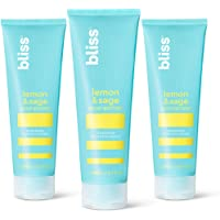 Bliss Lemon & Sage Body Butter Daily Moisturizing Cream for Dry Skin – Quick Absorbing, Long Lasting and Free of Paraben…