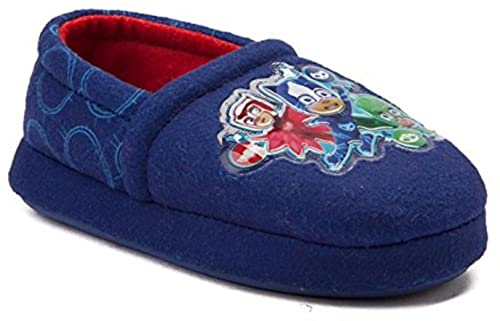 PJMASKS PJ Masks Boys Aline Slippers (5-6 M US Toddler, Blue)