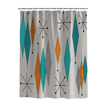 Amazon Findamy Extra Long Shower Curtains Sets With Hooks 72 X