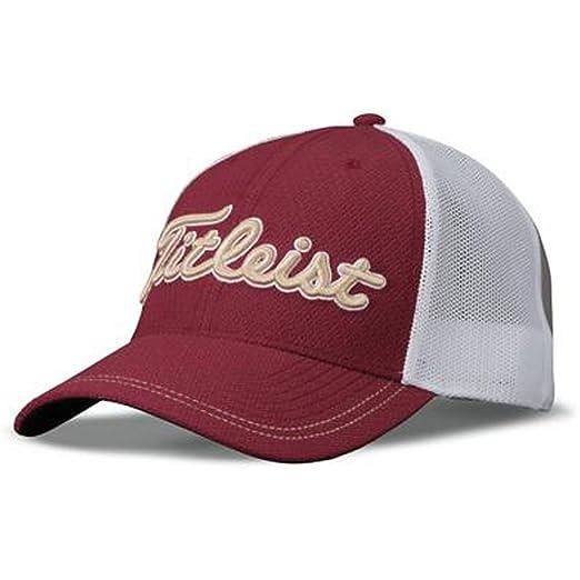 ee4493b0a0b Amazon.com  Titleist Stretch Tech Trend Collection Golf Cap 2017 ...